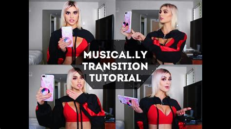 tutorial membuat video musical ly musical ly transition tutorial kristen hancher youtube