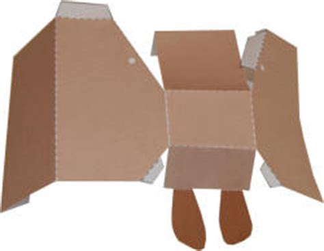 How To Make A Kangaroo Out Of Paper - kangaroo 3d paper model