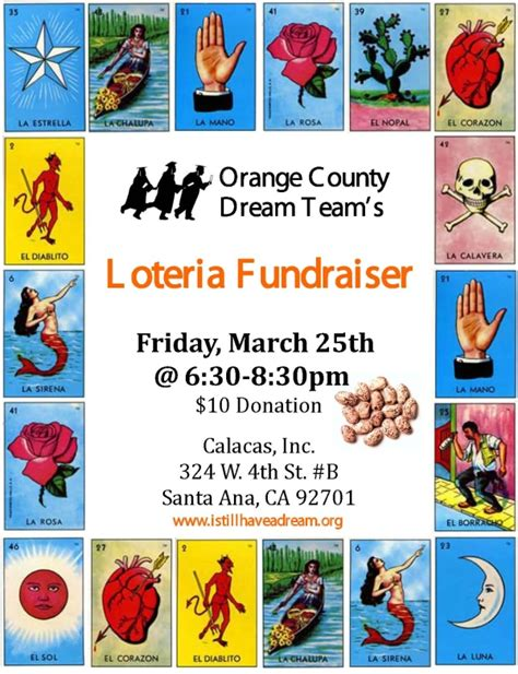 loteria template new santa loteria fundraiser this friday calacas