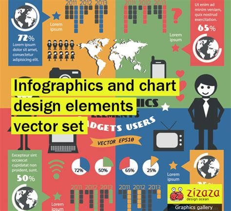 infographics and chart design elements vector set infographics and chart design elements vector set by