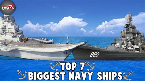 biggest ships in world war 2 top 7 biggest navy war ships 2016 youtube