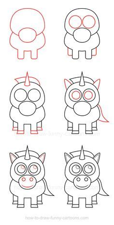 how to draw animals how to draw a chibi