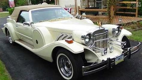 Auto Zimmer by Classic 1983 Zimmer Golden Spirit Cabriolet Roadster For