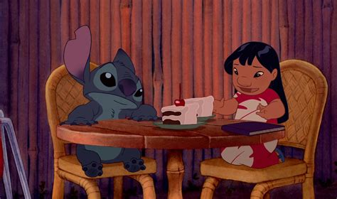 disney lilo stitch the story of the in comics books lilo and stitch chocolate cake hula disneyexaminer