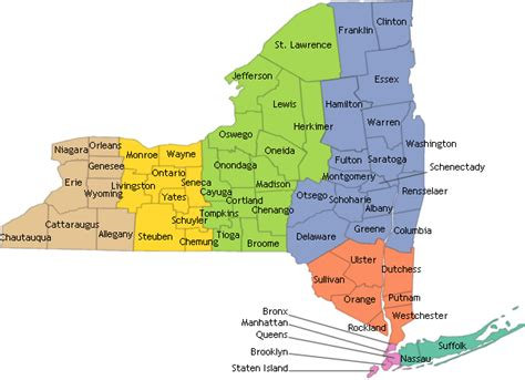 map of state of new york nyscr cancer by county