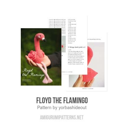 floyds pattern quiz floyd the flamingo amigurumi pattern amigurumipatterns net