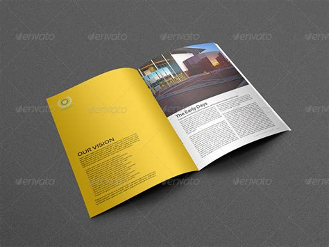 training company brochure template 28 pages by