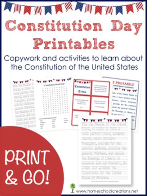 printable preamble us constitution free constitution day printables and activities free