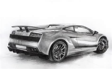 Drawings Of Lamborghinis Lamborghini Gallardo Lp570 4 By Sth Pl On Deviantart