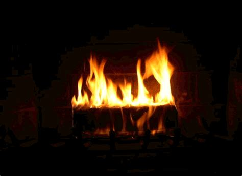 Animated Fireplace by Vibrantly Random