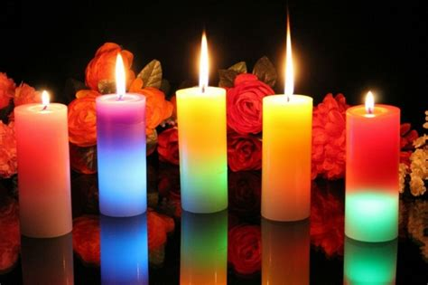 beautiful candles are welcome in every apartment one decor