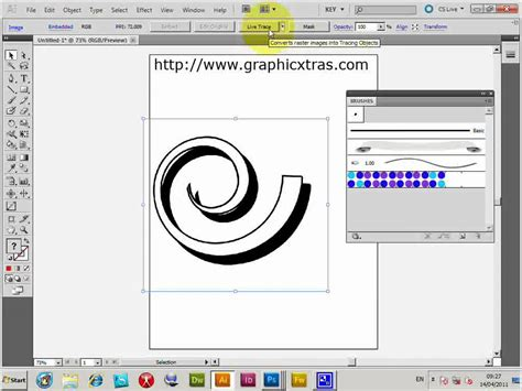 convert pattern to shape illustrator convert photoshop brushes to illustrator brushes trace