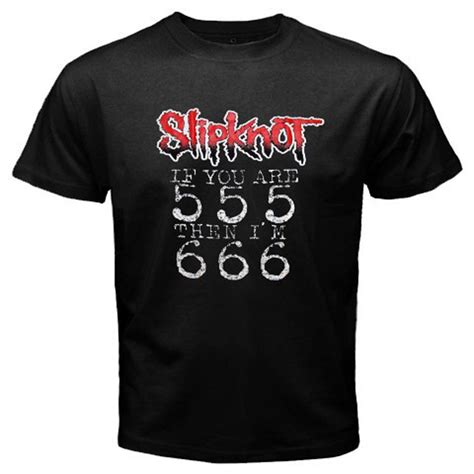 Yot T Shirt Size L slipknot if you are 555 then i m 666 rock band s black