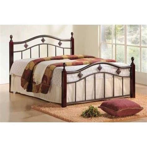 metal and wood headboards new twin full queen wood metal mattress foundation bed