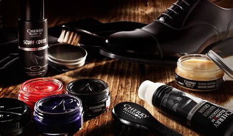 Shoo Care the complete shoe care collection cherry blossom shoe care