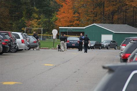 bomb sniffing dogs bomb threat leads to lockdown at rice memorial high school vermont radio
