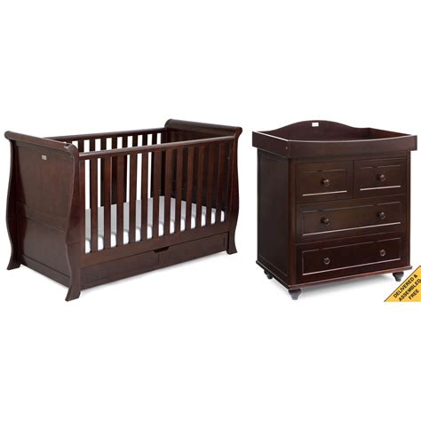 Furniture Nursery Sets Silver Cross Dorchester 2 Nursery Furniture Set