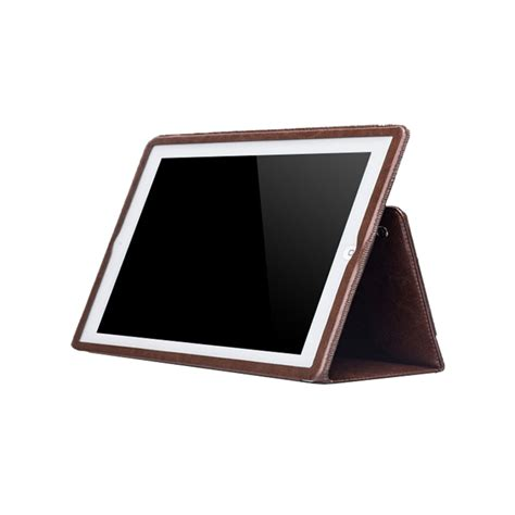 Ultrathin Air 2 6 ultrathin genuine leather for air 2 with stand