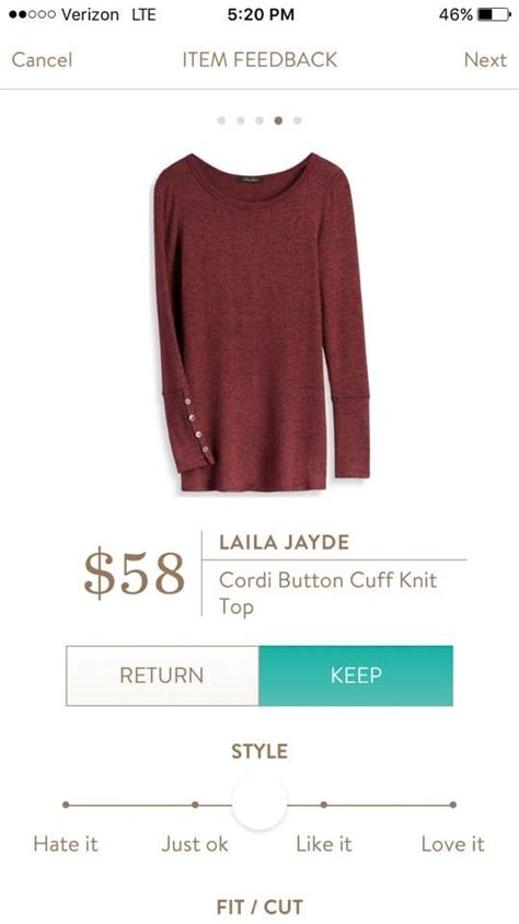 Laila Button laila jayde cordi button cuff knit top would to get