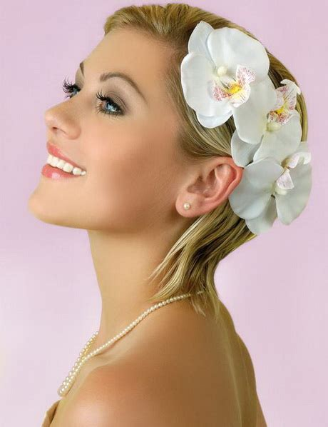Kurze Haare Hochzeitsfrisur by Hochzeitsfrisuren F 252 R Kurze Haare