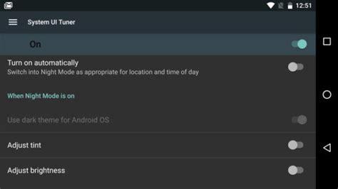 mode android el modo noche podr 237 a no llegar a la versi 243 n de