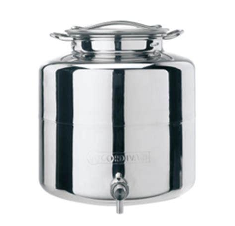 contenitori acciaio per alimenti contenitori per olio cordivari