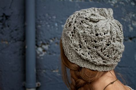 Lace Beanie brier lace beanie pattern knitting patterns and crochet