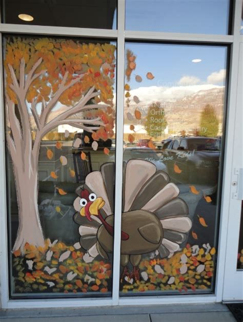 window painting for christmas bawden murals window painting seasons summer fall etc