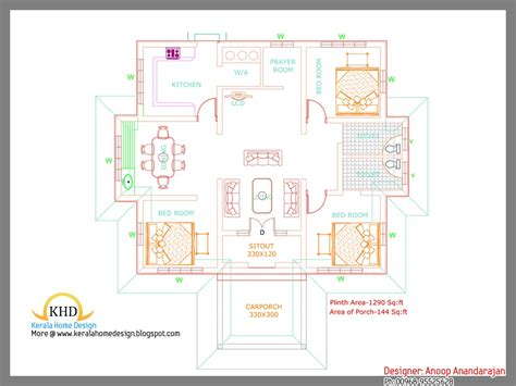 single floor 4 bedroom house plans kerala awesome kerala unique single floor 4 bedroom house plans kerala new