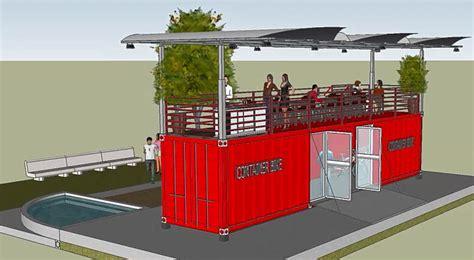 verande per bar container dehor strutture verande container vetrati mobili