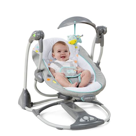 baby swing and vibrating chair ingenuity convertme swing 2 seat convertible swing avondale
