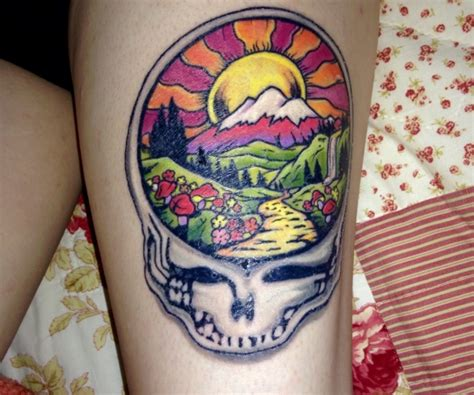 grateful dead tattoo designs 66 grateful dead tattoos grateful dead