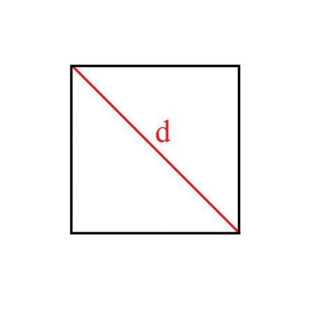 un cuadrado c 243 mo calcular la diagonal de un cuadrado 4 pasos