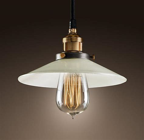 Milk Glass Filament Pendant Ceiling Restoration Hardware Restoration Hardware Lighting Pendant