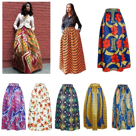 colorful skirts beautiful print dresses colorful maxi skirt