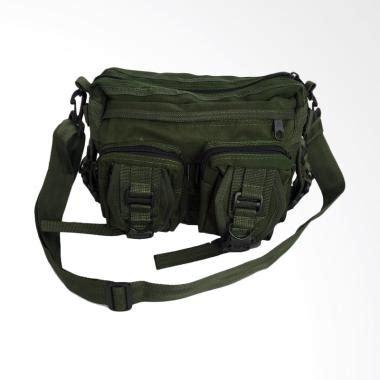 jual uye kempol tactical army z0170a tas selempang pria hijau lumut harga kualitas