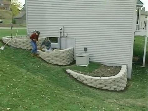 how to build garden retaining wall how to build a 3 tier retaining walls