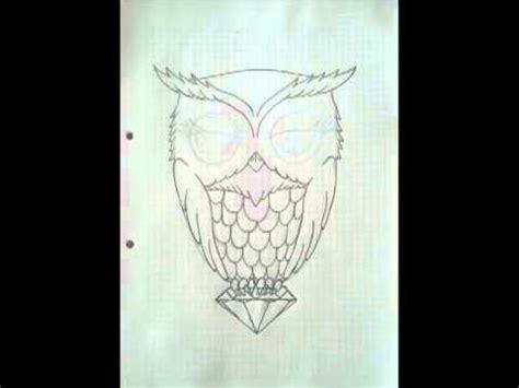imagenes faciles para dibujar de buhos como dibujar un buho youtube