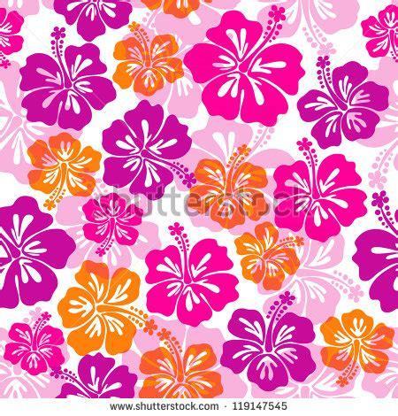 V22 Wallpaper Sticker Motif Vintage Purple hawaiian flower backgrounds fitfloptw info