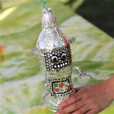 recycling ornament school prjuect ideas robbie the recycled robot favecrafts