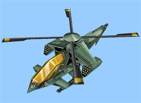 Helicopter Papercraft - 4 helicopter papercraft paperkraft net free