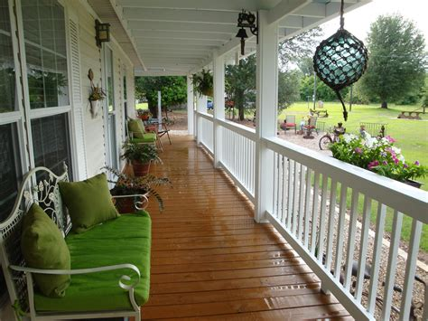 Front Porch Deck Ideas by Front Porch Designs For Mobile Homes Homesfeed