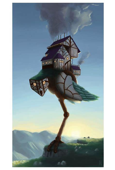 baba jaga haus baba yaga house concept and folk tales russia