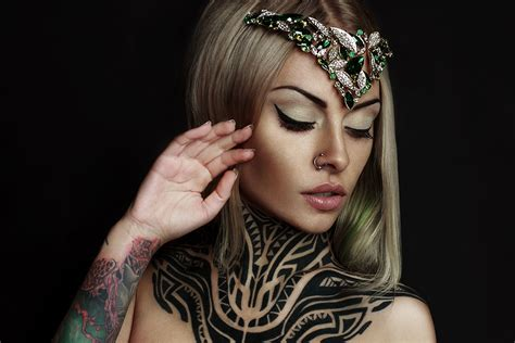 teya salat tattoo model official site