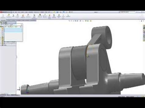 solidworks tutorial assembly mates solidworks assembly tutorial 1 cylinder engine pt2 youtube