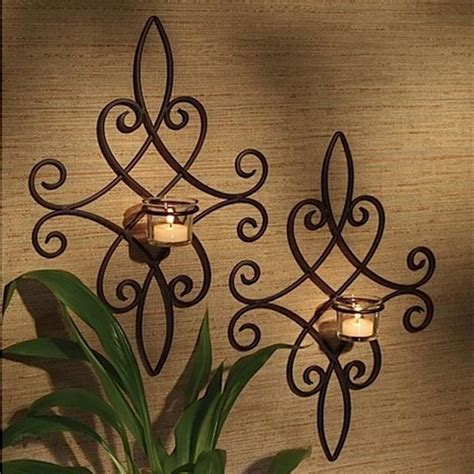 Wrought Iron Home Decor Decorative Wrought Iron Wall Decor And Pickndecor