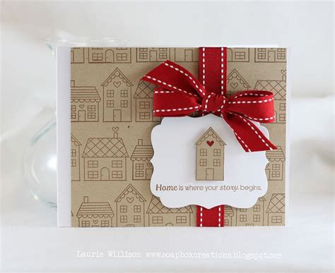 Housewarming Gift Card - new house card housewarming card diy welcome home card cards houses housewarming