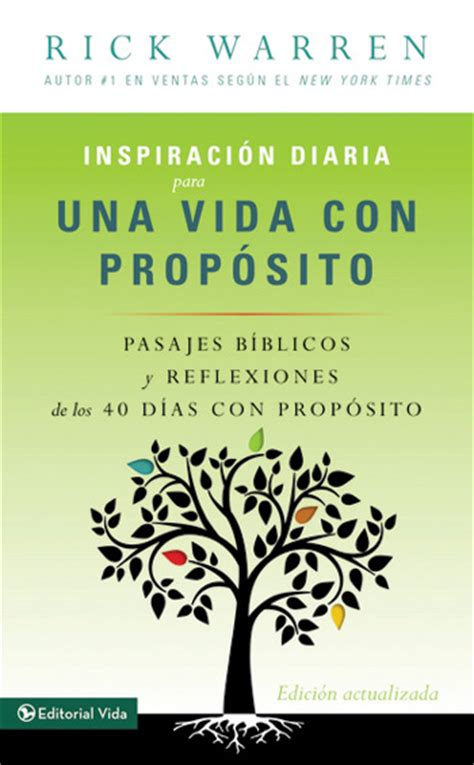 40 dias con proposito inspiraci 243 n diaria para una vida con prop 243 sito what on earth am i here for daily inspiration