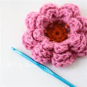 Free Easy Flower Crochet Patterns - 12 crochet flower patterns