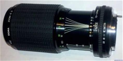 sigma 70 210mm f4.5 zoom k ii lens reviews sigma